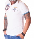 Aeronautica Militare Short Sleeve Polos - Polo Shirt 50 Aces White - price €50.00 - on special price only in RefoStore with great discount: - 65%