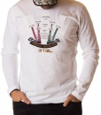 Aeronautica Militare Sweaters - T-shirt Long Sleeve 313 - White