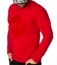 Armani Sweaters - Exchange Long Sleeve T-shirt - Red - price €42.00 - on special price only in RefoStore with great discount: - 70%