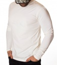 Armani Sweaters - Exchange Long Sleeve T-shirt - White - price €42.00 - on special price only in RefoStore with great discount: - 72%