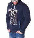 Armani Overhead Hoodies - Hoodie The City - Navy - price €45.00 - on special price only in RefoStore with great discount: - 50%