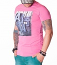 Armani Crew Neck T-shirts - AJ 8 T-Shirt - Pink - price €40.00 - on special price only in RefoStore with great discount: - 50%