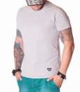 Armani V-neck T-shirts - AJ Jeans T-Shirt - Grey - price €42.00 - on special price only in RefoStore with great discount: - 53%