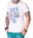 Armani Crew Neck T-shirts - AJ81 T-Shirt - White - price €40.00 - on special price only in RefoStore with great discount: - 50%