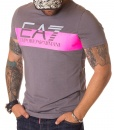 Armani Crew Neck T-shirts - T-shirt EA7 Grey - Pink - price €40.00 - on special price only in RefoStore with great discount: - 54%