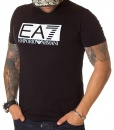 Armani Crew Neck T-shirts - T-shirt Emporio EA7 - Black - price €38.00 - on special price only in RefoStore with great discount: - 58%