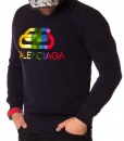 Balenciaga Sweaters - Winter Sweater - Navy Blue - price €60.00 - on special price only in RefoStore with great discount: - 67%