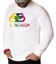 Balenciaga Sweaters - Winter Sweater - White - price €60.00 - on special price only in RefoStore with great discount: - 67%