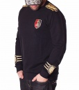 Balmain Sweaters - Sweater Templar - Black - price €90.00 - on special price only in RefoStore with great discount: - 71%