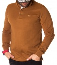 Burberry Long Sleeve Polos - Classic Long Sleeve Polo Shirt - Camel - price €60.00 - on special price only in RefoStore with great discount: - 67%