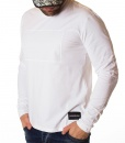Calvin Klein Sweaters - Long Sleeve Velor Print T-shirt - White - price €38.00 - on special price only in RefoStore with great discount: - 60%