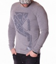 Calvin Klein Sweaters - Sweater Artwork 1703 - Grey - price €32.00 - on special price only in RefoStore with great discount: - 45%