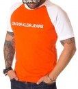 Calvin Klein Crew Neck T-shirts - T-shirt Jeans Orange - price €35.00 - on special price only in RefoStore with great discount: - 42%