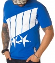 Calvin Klein Crew Neck T-shirts - T-shirt Stars Blue SS19 - price €38.00 - on special price only in RefoStore with great discount: - 53%