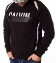 Calvin Klein Jumpers - Winter Jumper With Rubber Stamp - Black - price €45.00 - on special price only in RefoStore with great discount: - 66%