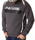 Calvin Klein Jumpers - Winter Jumper With Rubber Stamp - Grey - price €45.00 - on special price only in RefoStore with great discount: - 66%