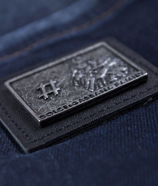 Dolce & Gabbana Jeans - Jeans Virgin Mary Logo
