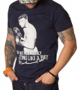 Dolce & Gabbana Crew Neck T-shirts - Muhammad Ali T-Shirt - Navy - price €39.00 - on special price only in RefoStore with great discount: - 70%