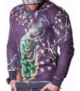 Dolce & Gabbana Sweaters - Paterned Purple Sweater - price €55.00 - on special price only in RefoStore with great discount: - 55%