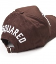 Dsquared Hats - Baseball Cap DSQ2 Brown