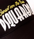 Dsquared Hats - Baseball Cap Sunset On The Beach Black