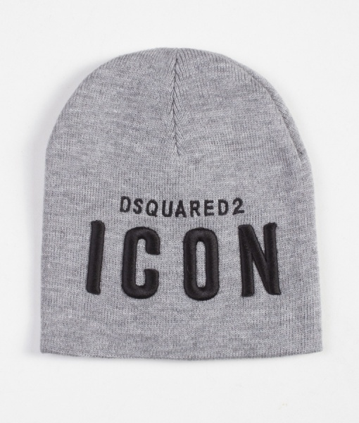 Dsquared Hats - Icon Winter Hat - Grey