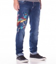 Jeans - Embroidered Phoenix Jeans