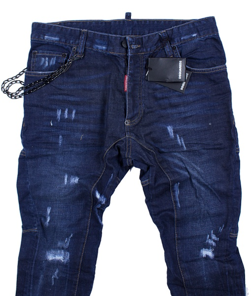 Dsquared Jeans - Indigo Ripped Jeans