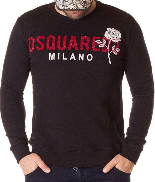 Dsquared Sweaters - Sweater Milano Rose Black