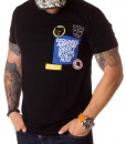 Dsquared Crew Neck T-shirts - T-shirt Awesome Gnarly - Black - price €45.00 - on special price only in RefoStore with great discount: - 68%