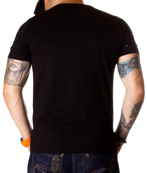 Dsquared Crew Neck T-shirts - T-shirt Be Cool Be Nice - Black