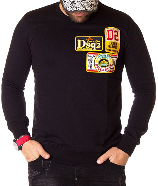 Dsquared Sweaters - Winter Sweater Canadian Bros - Black