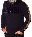 Fendi Overhead Hoodies - Overhead Hoodie Double FF - Navy Blue - price €65.00 - on special price only in RefoStore with great discount: - 68%