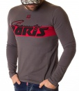 Givenchy Sweaters - Long Sleeve T-shirt Paris - Grey