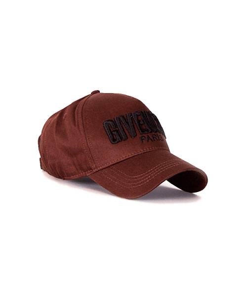 Givenchy Hats - Paris Baseball Cap Brown