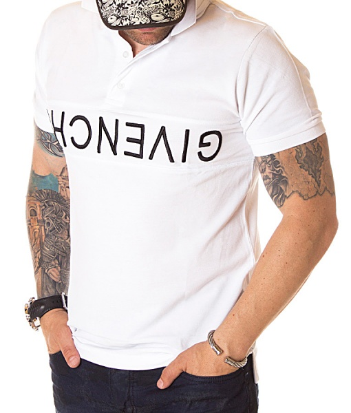 Givenchy Short Sleeve Polos - Classic Polo Shirt White