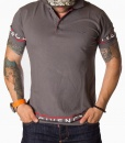Givenchy Short Sleeve Polos - Polo Shirt Paris - Grey