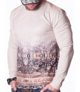 Givenchy Sweaters - Patterned Beige Sweater - price €55.00 - on special price only in RefoStore with great discount: - 50%
