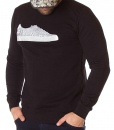 Sweaters - Sweater Sneakers Italy Black