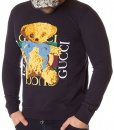 Sweaters - Sweater Cute Bear Navy Blue
