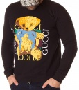Sweaters - Winter Sweater Cute Bear Black