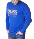 Hugo Boss Sweaters - Long Sleeve T-shirt - Blue - price €50.00 - on special price only in RefoStore with great discount: - 59%
