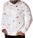 Kenzo Sweaters - Paris Winter Sweater AW20 - White - price €50.00 - on special price only in RefoStore with great discount: - 66%