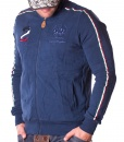 La Martina Zip Hoodies - Maserati 2 Polo Team Zip Hoodie - Navy - price €62.00 - on special price only in RefoStore with great discount: - 68%