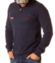 La Martina Long Sleeve Polos - Long Sleeve British Polo Shirt - Navy - price €55.00 - on special price only in RefoStore with great discount: - 63%