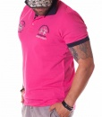 La Martina Short Sleeve Polos - Polo Cambridge University Pink - price €52.00 - on special price only in RefoStore with great discount: - 66%