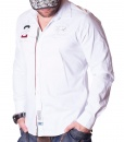 La Martina Long Sleeve Shirts - Maserati 2 Polo Team Shirt - White - price €55.00 - on special price only in RefoStore with great discount: - 68%