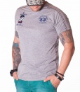 La Martina Crew Neck T-shirts - Maserati Polo Team Grey T-shirt - price €48.00 - on special price only in RefoStore with great discount: - 64%