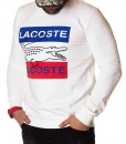 Lacoste Sweaters - Winter Sweater Big Logo - White - price €50.00 - on special price only in RefoStore with great discount: - 65%