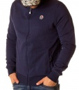 Moncler Zip Hoodies - Classic Zip Hoodie Blue - price €65.00 - on special price only in RefoStore with great discount: - 64%